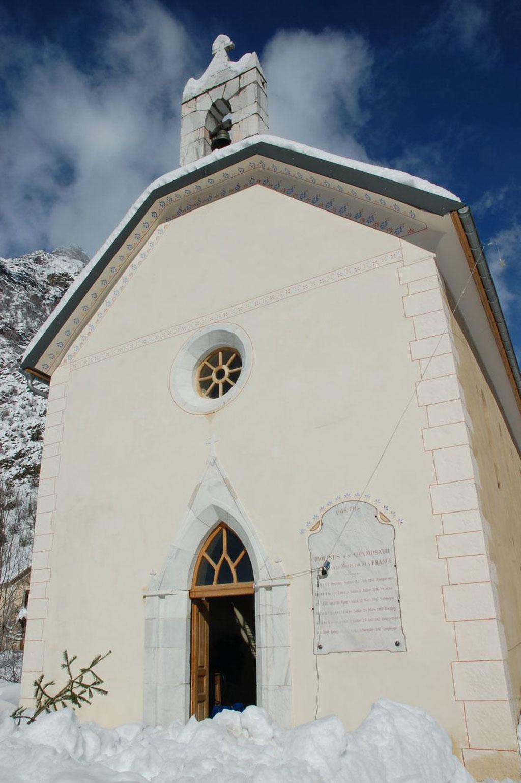 Chapelle de Molines - Champsaur - © Yves Baret -Parc national des Écrins