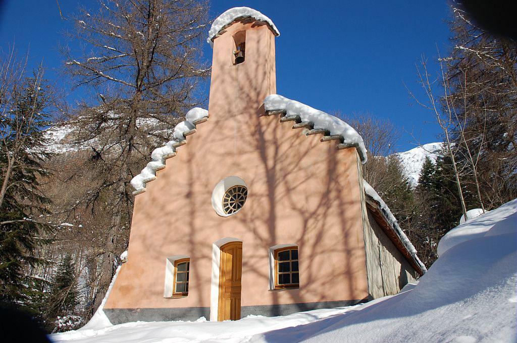 Chapelle de Navette restaurée - La Chapelle en Valgaudemar - © D-Vincent- Parc national des Écrins