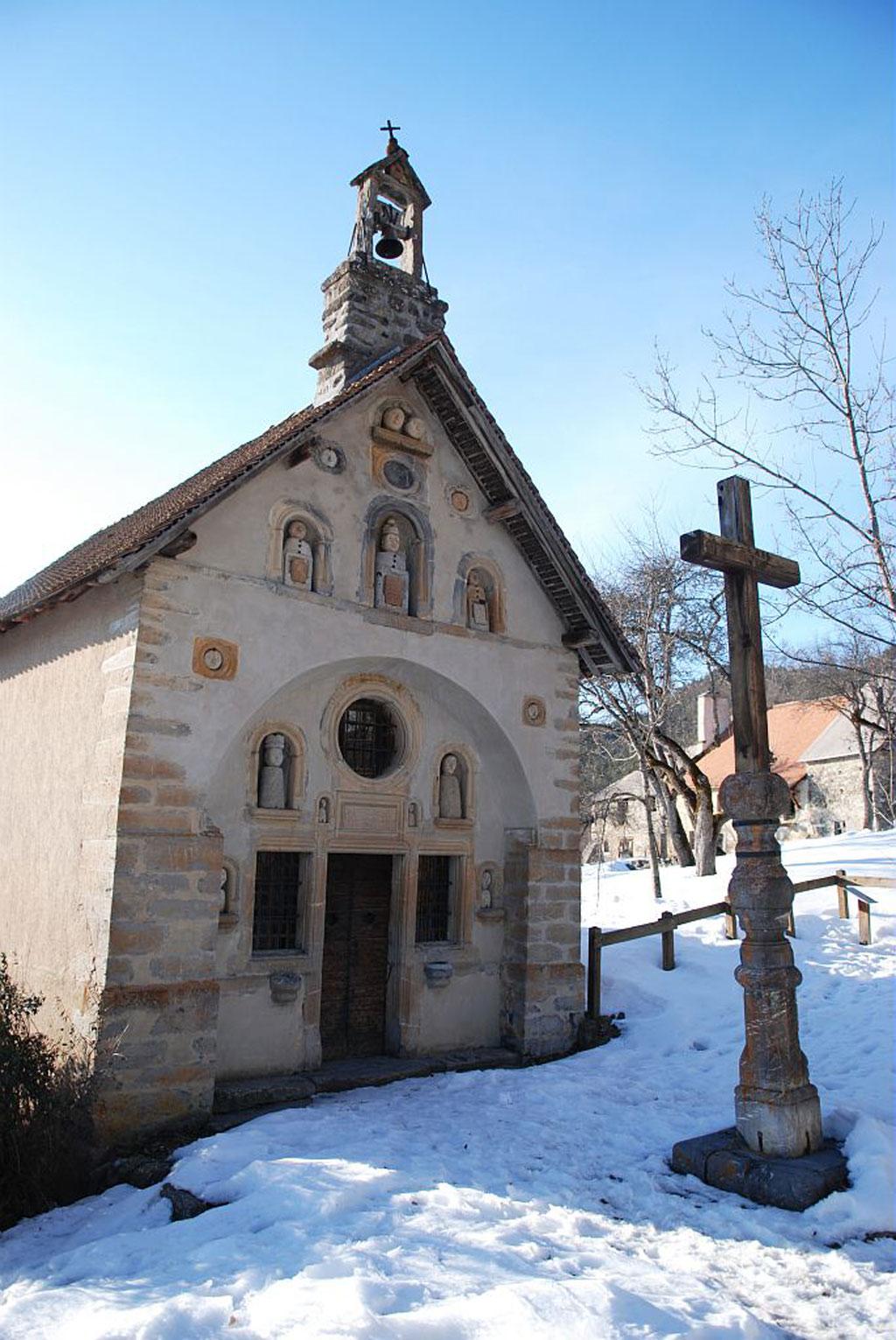 Chapelle des Petetes - © O.Warluzelle - Parc national des Écrins