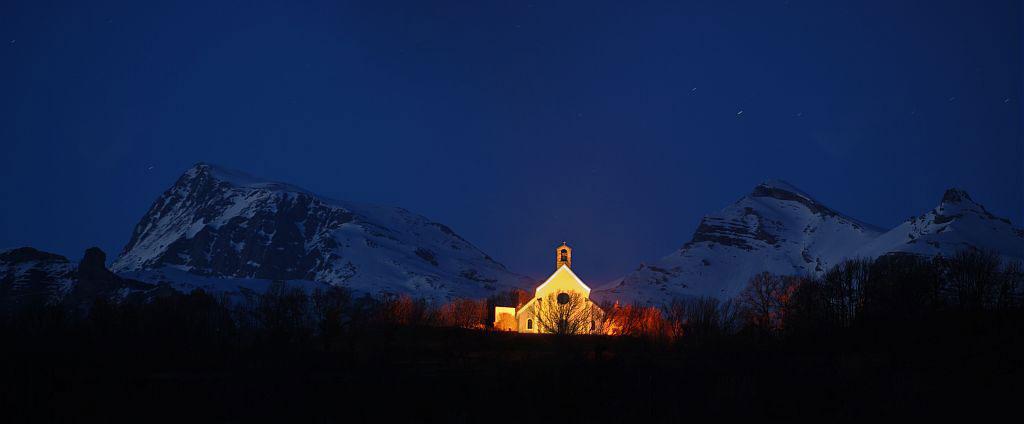 Chapelle des Rissents - Buissard - © P Saulay - Parc national des Écrins