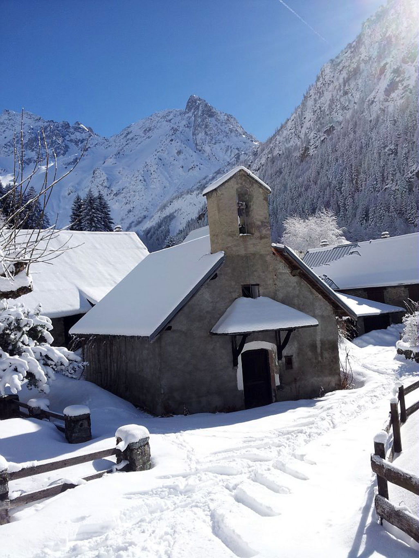 Chapelle de Valsenestre 2014 - © B-Nicollet -  Parc national des Écrins