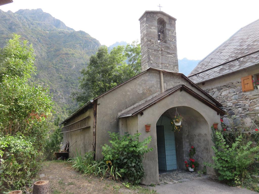 Chapelle du Villard d'Entraigues - © M.Pottier - Parc national des Écrins