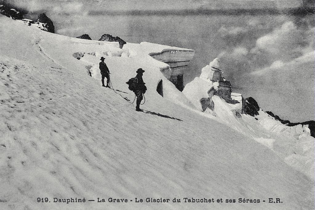 Le glacier du Tabuchet et ses Séracs © Parc national des Ecrins (collection)