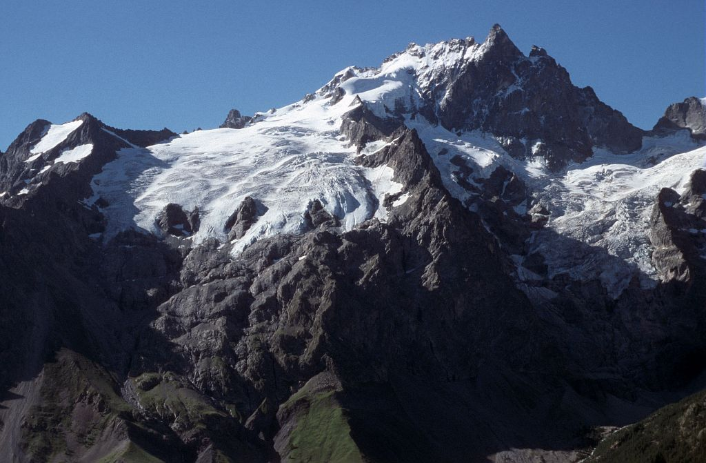 Le glacier du Tabuchet © Bernard Nicollet - Parc national des Ecrins
