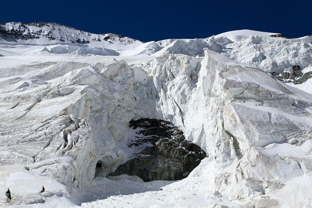 Sérac sur le glacier Blanc © Robert Chevalier - Parc national des Ecrins