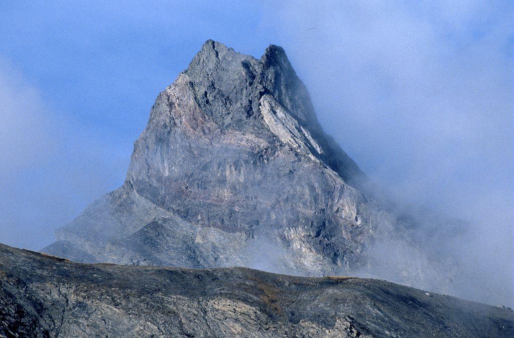 L'Aiguille de Morges, depuis le vallon d'Isola, Champoléon © Marc Corail, Parc national des Ecrins