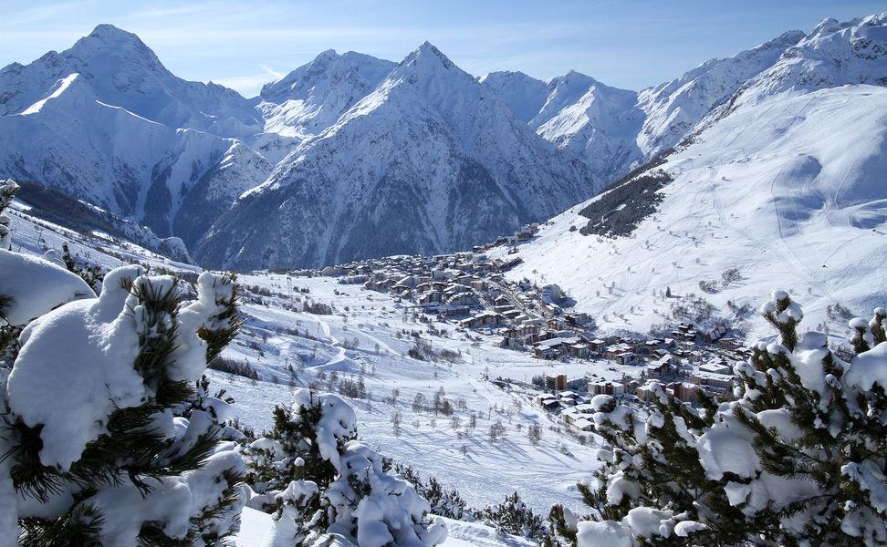 La station des 2 Alpes