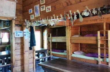 A table au refuge de la Muzelle