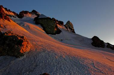 Glacier du Tabuchet et La Meije - La Grave