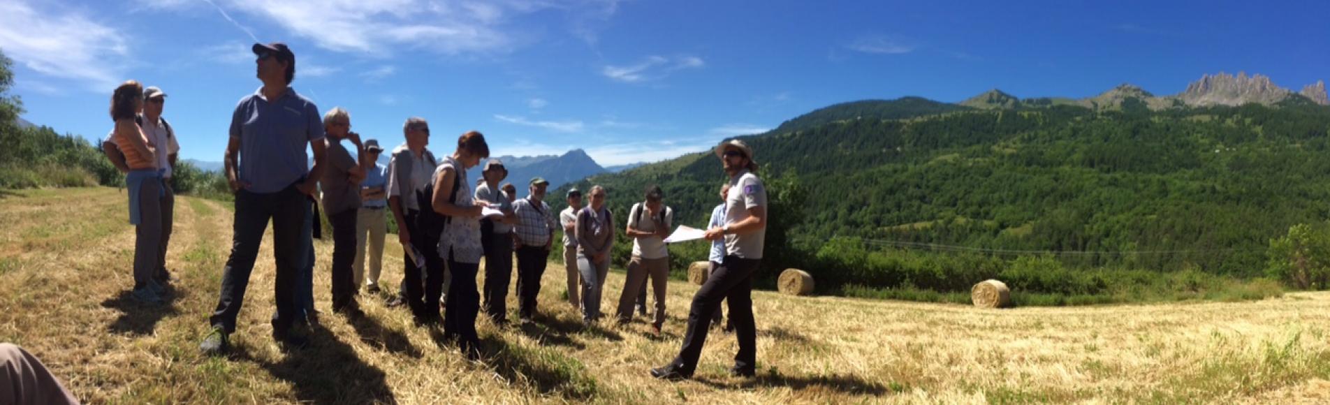Conseil scientifique réuni dans l'Embrunais -juin 2015 - © Christian Couloumy - Parc national des Ecrins