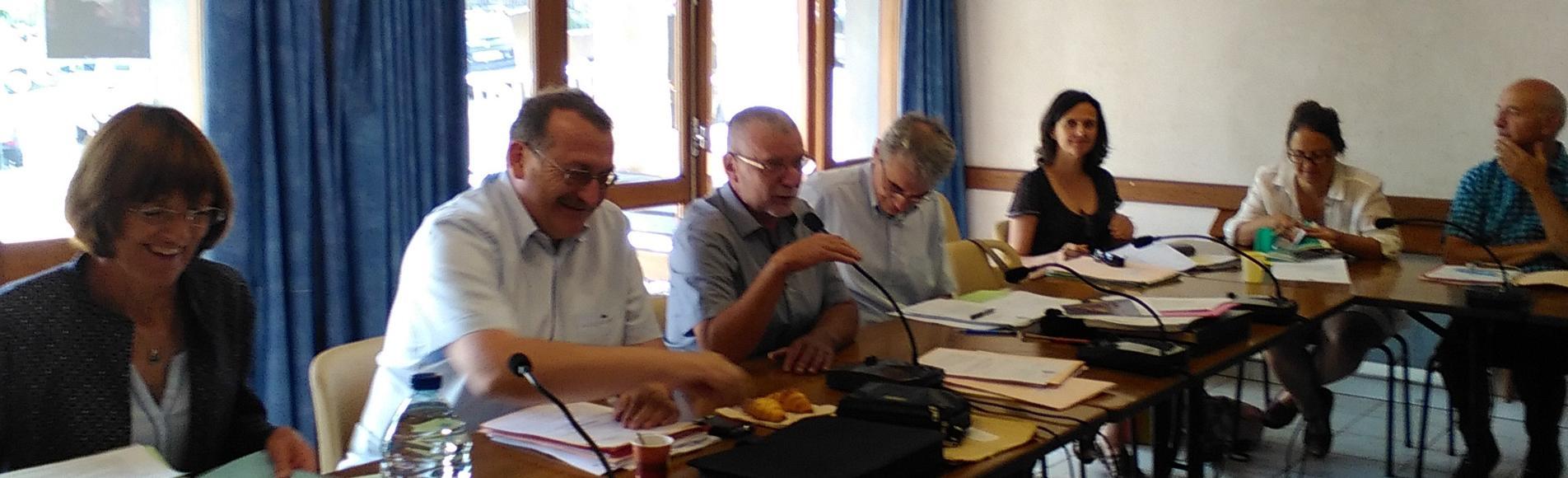 conseil d'administration du Parc national des Ecrins - 3 juillet 2015 à Saint-Léger les Mélèzes -