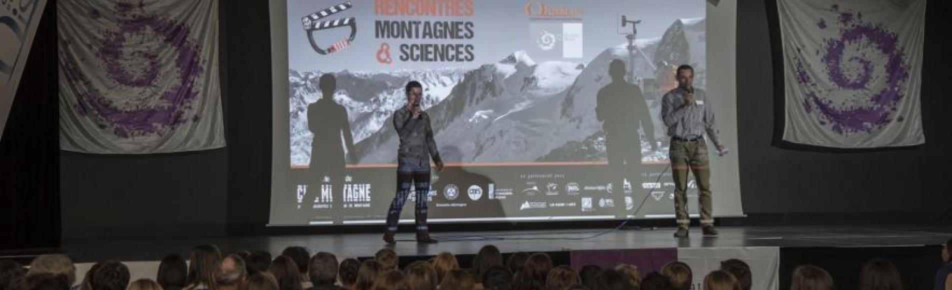 Montagnes et sciences - 10 novembre 2015 - Le Bourg d'Oisans - photos Bernard Clouët