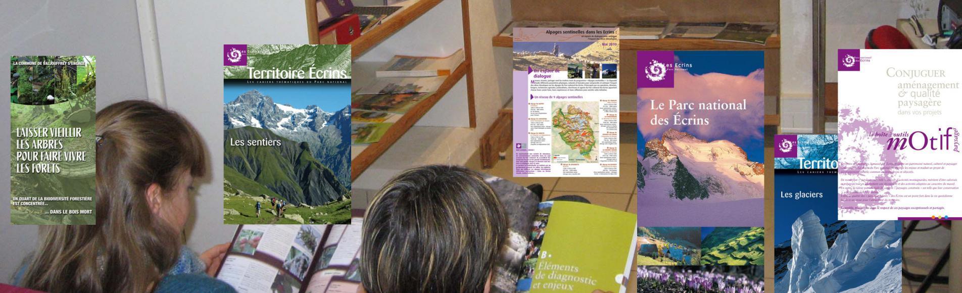 Coin lecture du Centre de documentation © Parc national des Ecrins