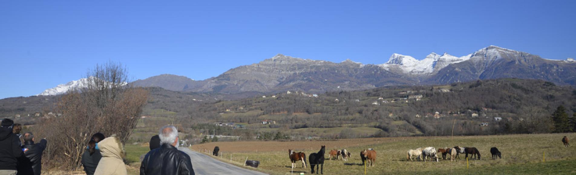 atelier paysage Buissard -  - nov 2015  © Cl-Gondre - Parc national des Ecrins