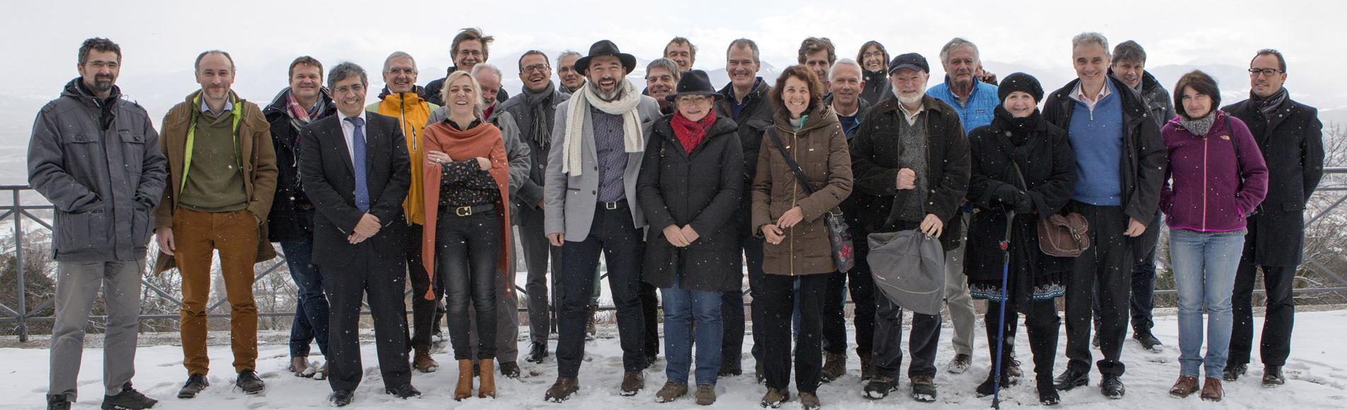 100ème séance du Conseil scientifique du Parc national des Ecrins - janvier 2017 © P.Saulay - Parc national des Ecrins