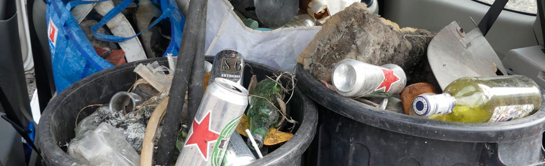 opération de nettoyage LPO Embrun - 2017 retenue Serre-Ponçon