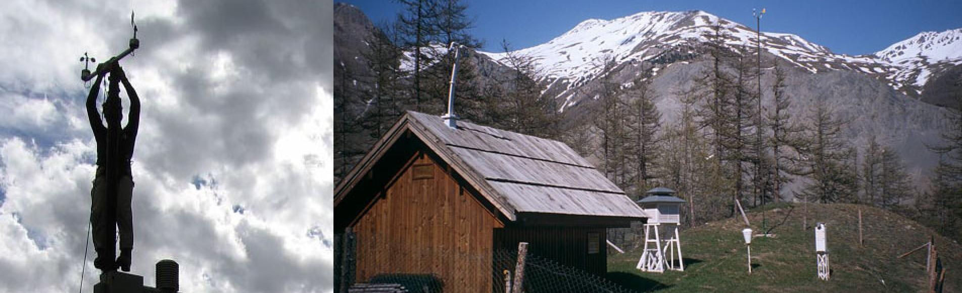 La station MERA au Casset - mesures de l'évolution de la pollution atmosphérique longue-distance