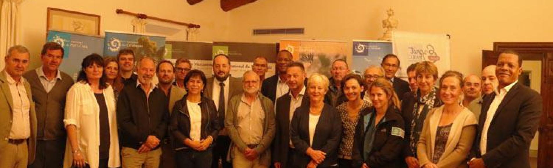 Séminaire présidents des parcs nationaux - octobre 2018 - photo PN des Calanques