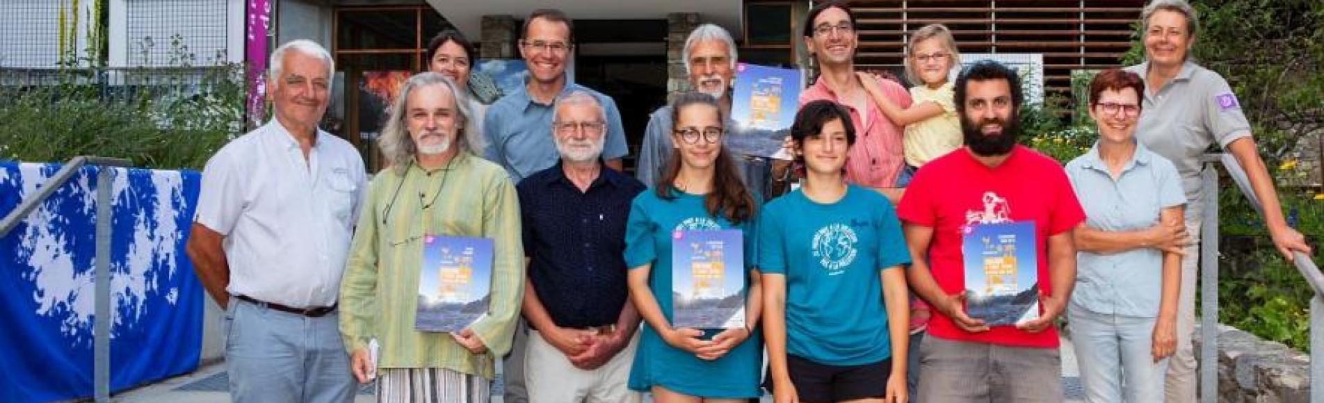 Les lauréats du concours Cclimatt - 2019- © T.Maillet - Parc national des Ecrins