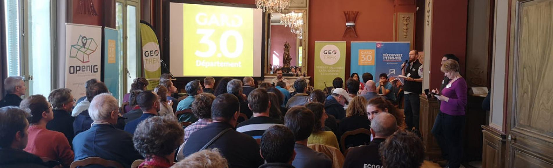 3èmes rencontres Geotrek à Nimes, novembre 2019 - Parc national des Écrins