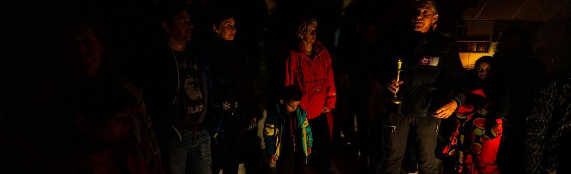 Animation en nocturne par le PNE - Refuge des animaux - Saint-Léger les Mélèzes © T.Maillet - Parc national des Ecrins