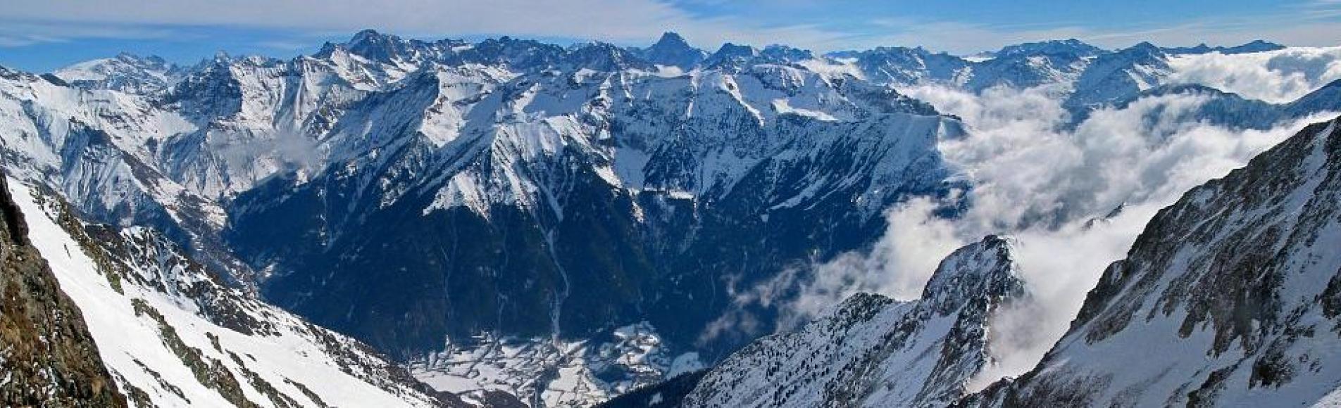 Vallon de l'Infernet depuis le col Guillaume - © J.-P. Nicollet - PNE