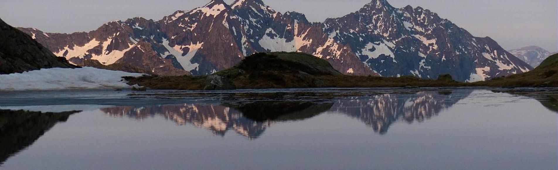 Petit Lac sous le Lac Lautier  ©Lucovic Imberdis - Parc national des Ecrins