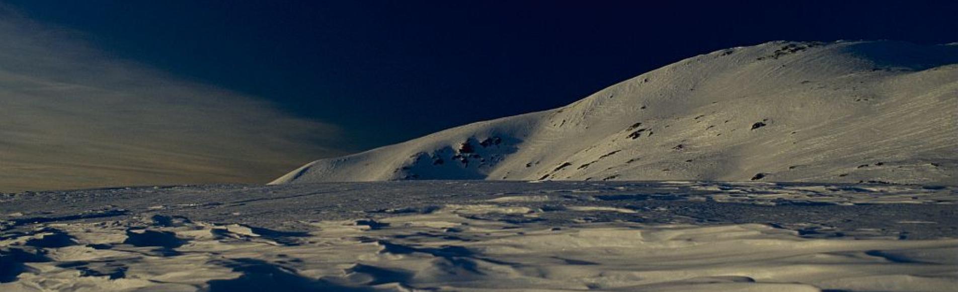 Plateau du Taillefer au coucher du soleil © Jean-Pierre Nicollet - Parc national des Ecrins