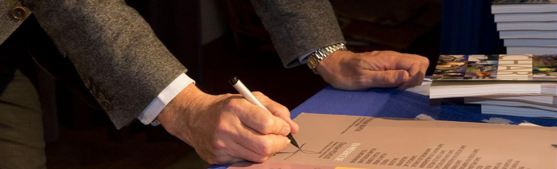 Signature Charte - 2013 - photo P.Saulay - Parc national des Ecrins