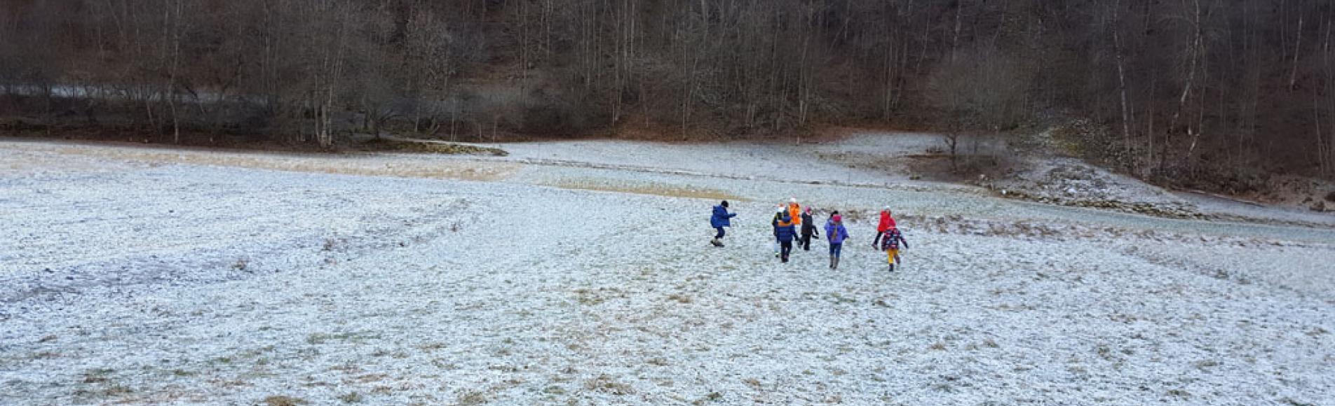 Ecole St Michel de Chaillol - 2016-2017- hiver, avec le Parc national des Ecrins