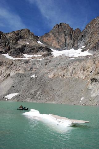 Lac du pavé © Parc national des Ecrins
