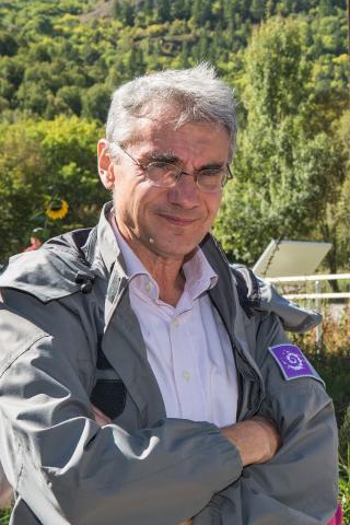 Bertrand Galtier, directeur du Parc national des Ecrins - 2012-2016 © P.Saulay - Parc national des Écrins