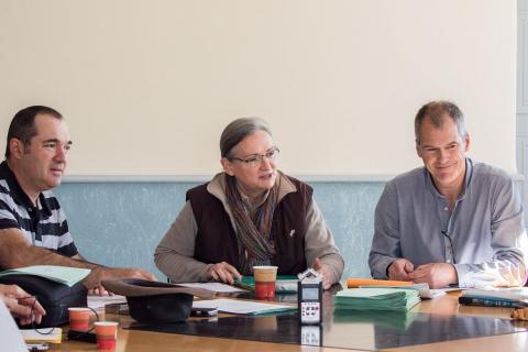 Isabelle Arpin, présidente du Conseil scientifique PN Vanoise - Conseil scientifique 29 avirl 2016 à Gap - © P.Saulay - Parc national des Écrins