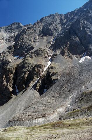Glacier rocheux du Laurichard © Parc national des Ecrins