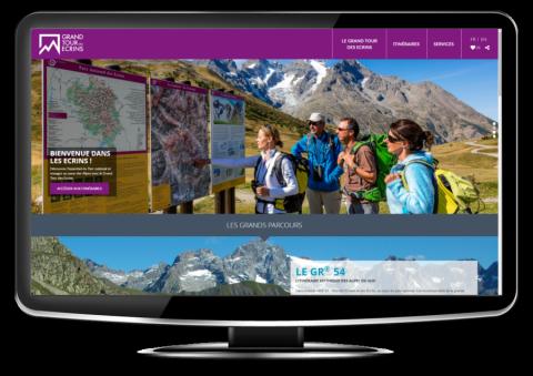 L'offre de randonnée site Grand tour des Ecrins avec geotrek - Parc national des Écrins
