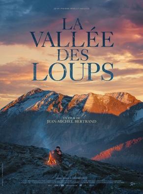 La vallée des loups, film de Jean-Michel Bertrand - l'affiche