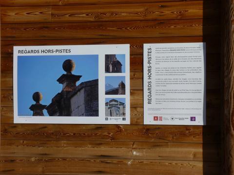 Exposition Regards hors piste - Serre-Chevalier - photo Parc national des Ecrins