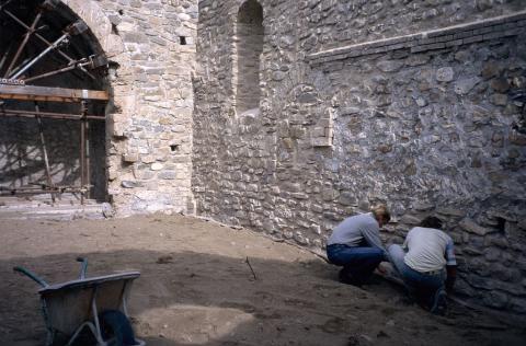 Restauration chapelle Ste Catherine - Châteauroux les Alpes © Parc national des Ecrins