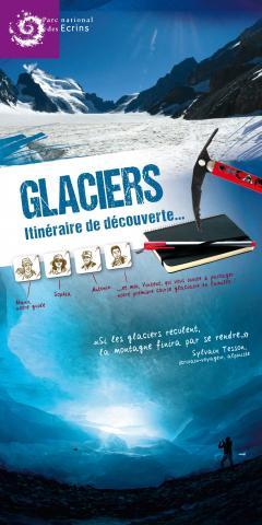 """Exposition """"Glaciers""""  © La Ligne, PNE."""