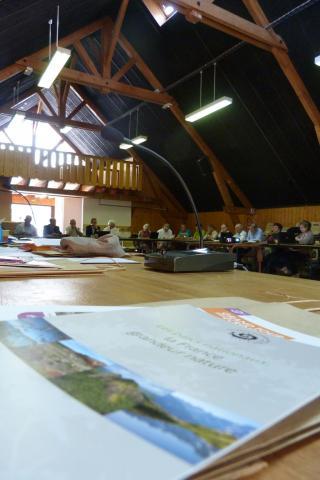 Conseil d'administration Parc national des Ecrins - juillet 2017 - Venosc - © P.Navizet - Parc national des Ecrins