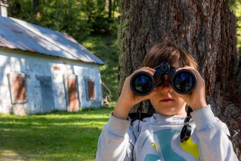 sorties découvertes Esprit parc national - © B Bodin - Parc national des Ecrins