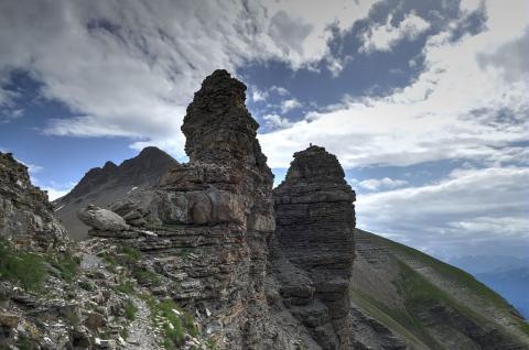 Col des Tourettes © V. Zugmeyer, PNE