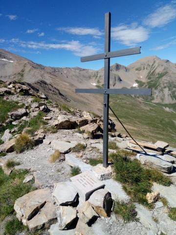 La croix de Lorraine rénovée © M. Francou