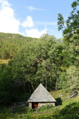 Moulin Dormillouse réparé lors de l'été 2017 © JP Telmon - Parc national des Écrins