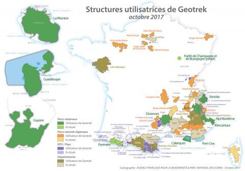 Communauté des utilisateurs de Geotrek (2017)