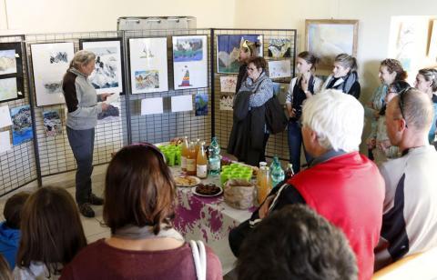 remise des prix du Concours de dessin 2017 - Briançonnais - Parc national des Écrins