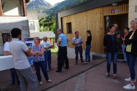 Inauguration bureaux rénovés Entraigues - 27-04-2018 © E.Icardo - Parc national des Écrins