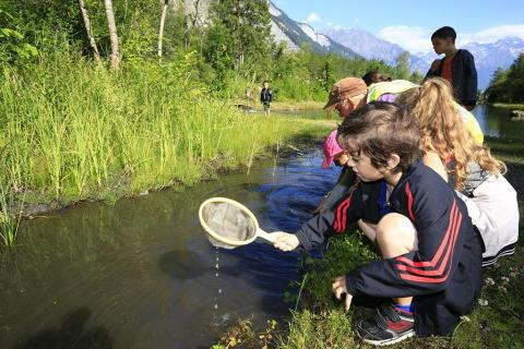 Ecrins de nature 2018 - journée scolaire - © T.Maillet - Parc national des Écrins
