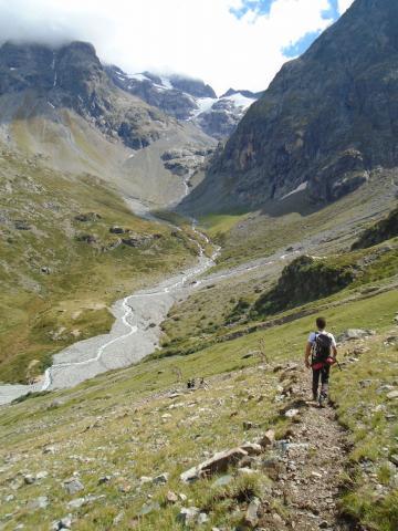 Travaux sentiers Selettes- La Lavey - © S-D'houwt - Parc national des Ecrins