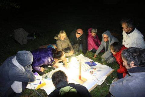 Jour de la nuit 2018 à Puy Sanières © M.Bouvier - Parc national des Ecrins